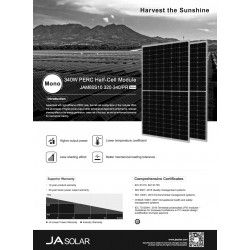 Moduł JA SOLAR Mono 335Wp JAM60S10-335/PR - BRAK NA MAGAZYNIE