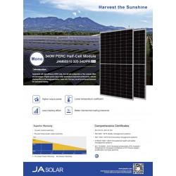 Moduł JA SOLAR Mono 335Wp JAM60S10-335/MR - Dostępne w dużej ilości